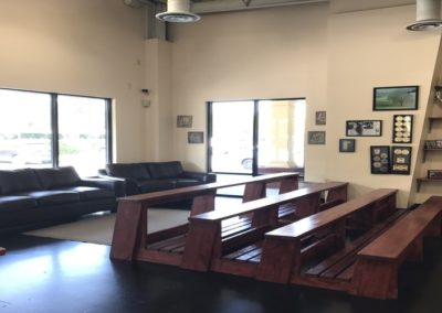 Uzcategui Brazilian Jiu Jitsu Waiting Area, Wilmington NC